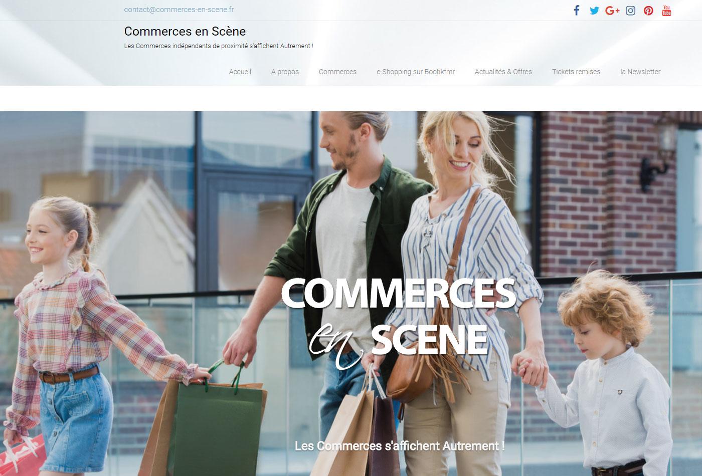 plateforme multi-commerces