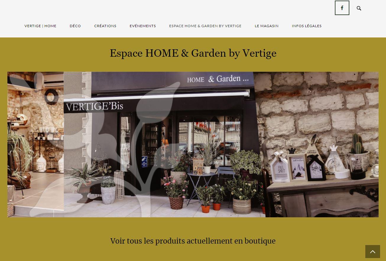 HOME GARDEN by Vertige Fleurs