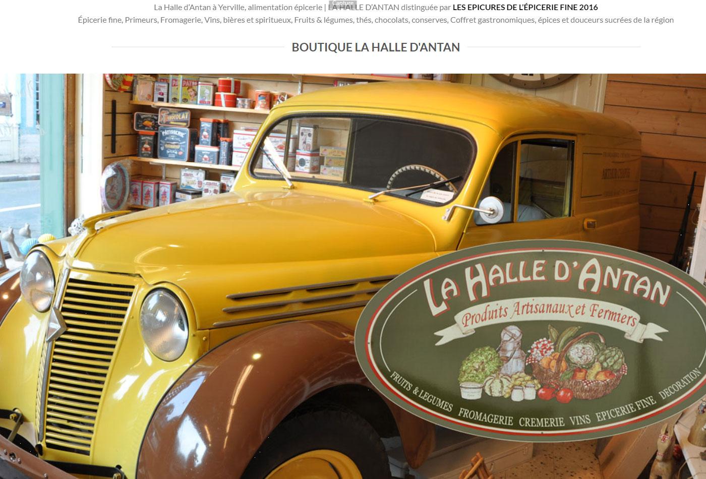 Site e-boutique sur bootikfmrVoir le site